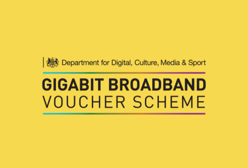 What is the gigabit voucher scheme?
